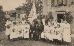 1917 Fahnenweihe