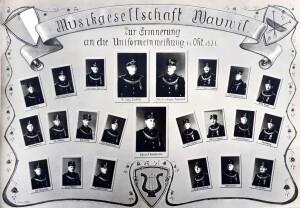 Neuuniformierung 1931