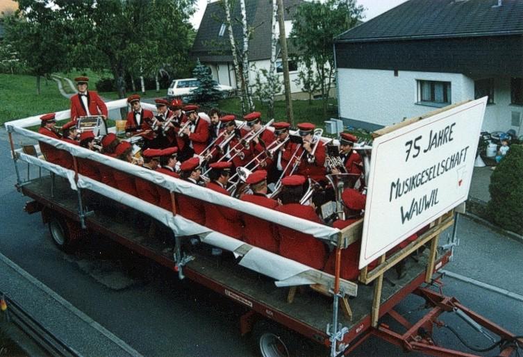 1989 75 Jahre MG Wauwil