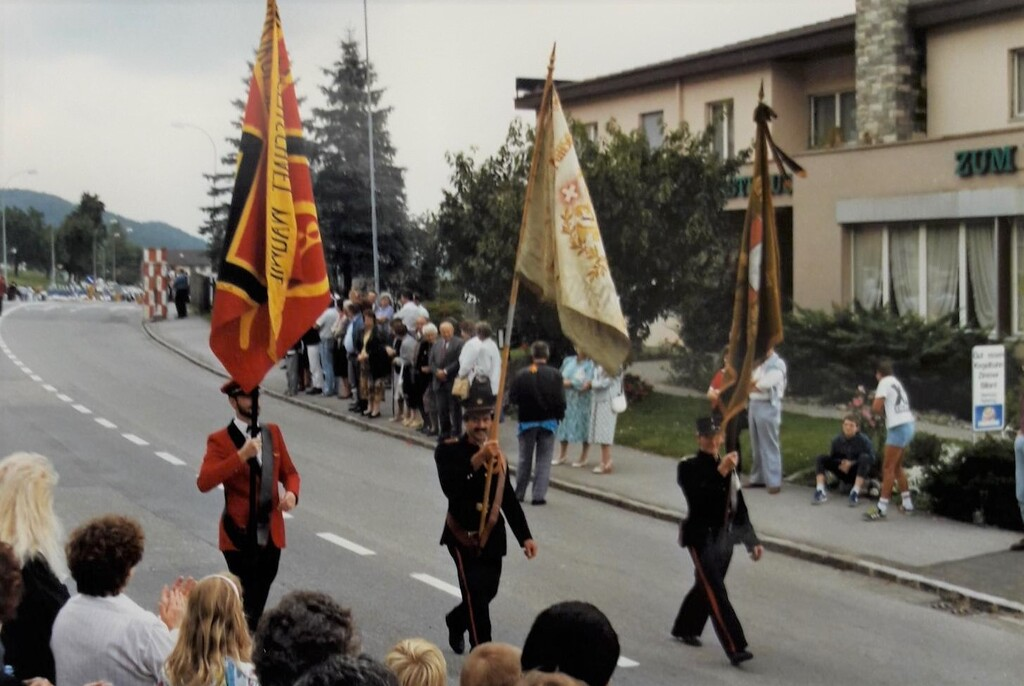 1989 Uniformenweihe MG Wauwil